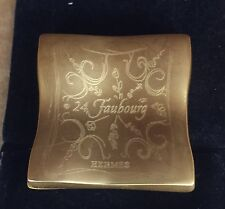 HERMES 24 Faubourg Bijou Parfume Powder Compact by Maurice Roucel 1995 .06oz