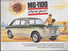 MG 1100 MK1 SALOON ORIGINAL 1964 FACTORY UK SALES BROCHURE