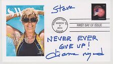 SIGNED DIANA NYAD FDC AUTOGRAPHED FIRST DAY COVER SWIM TO CUBA
