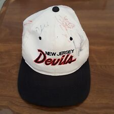 4b21ade2af7 New Jersey Devils Signed Hat. Signed at camp around 2000. Autographed
