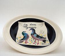 Les deux pigeons french céramic MBFA Pornic