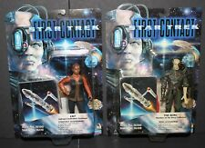 Star Trek First Contact Lily and the Borg action figures NOC Playmates toys