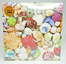 SEASHORE 1000pc puzzle Seashells New HTF Re-Marks