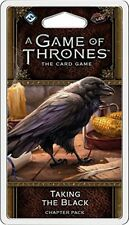 GAME OF THRONES THE CARD GAME LCG TAKING THE BLACK CHAPTER PACK