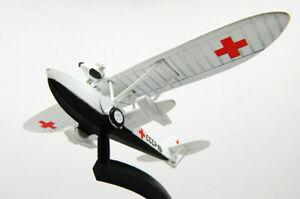 Shavrov Sh-2 Soviet Amphibian Aircraft 1930 Year 1/100 Scale Rescue Plane Model