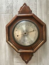 New listing Vintage Pf Bollenbach Jeweled Barometer In Wood