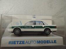 Rietze 50664 Audi A6 Polizei grün/weiß Kenn.984 in OVP aus Polizei-Sammlung (*4)