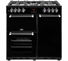 Belling Black Stainless Steel Home Cookers