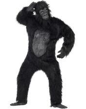 Adult Super Deluxe Gorilla Fancy Dress Costume Ape Silverback Suit by Smiffys