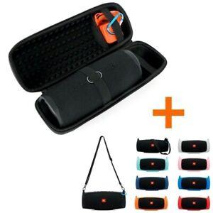 Hard Travel Shoulder Bag+Soft Silicone Case Cover JBL Charge 4 Bluetooth Speaker
