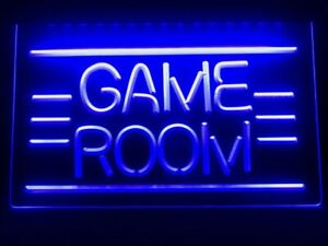 Game Room Displays Toys TV LED Neon Light Sign Home Decor Crafts for gamers