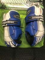NEW WARRIOR HYPNO II 12" Lacrosse Gloves Lax Royal Blue