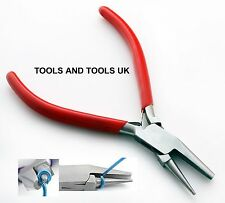 ROUND AND CONCAVE NOSE PLIERS JEWELRY MAKING FORMING JUMP RINGS HOBBY WIRE WORK