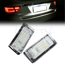 2x LED Error Free Number License Plate Light For BMW E39 5D 5 Door Wagon Touring
