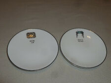 KATE SPADE LENOX CONCORD SQUARE CAUSE A STIR PLATE SET DANCE ON TABLE KISS COOK