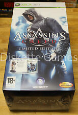 ASSASSIN'S CREED LIMITED EDITION - XBOX 360 PAL ESPAÑA - NUEVO EDICION LIMITADA