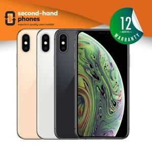 Apple iPhone XS 64GB 256 GB 512GB Unlocked / SIM FREE Space Grey/Silver/Gold