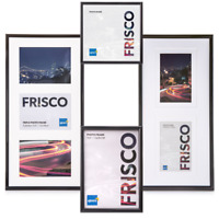 Kenro Frisco Black Plastic Single and Multi Picture Photo and Poster Frame