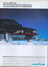Goodyear Eagle NCT Tyres 1988 Magazine Advert #1379