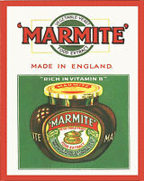 Marmite Made In England VINTAGE ENAMEL METAL TIN SIGN WALL PLAQUE