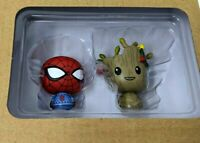 Marvel Holiday Pint Size Heroes FUNKO Christmas Spider-Man and Groot Mini Figure