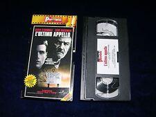 VHS L'ULTIMO APPELLO - 1997