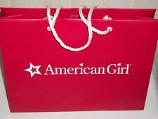 American Girl Red Shopping Bag Small with AG Tissue