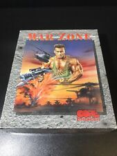 More details for war zone a core design game for the commodore amiga computer