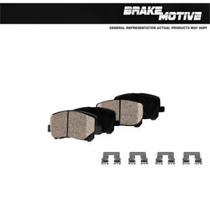 Rear Ceramic Brake Pads For 2019 Ram 3500 Dually