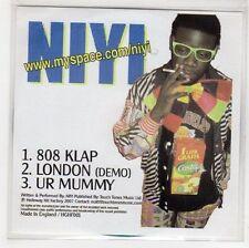 (GH123) Niyi, 808 Klap / Ur Mummy - 2007 DJ CD