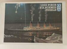 "F.X. Schmid 1000 Piece Puzzle - Titanic ""New"" (Free Shipping)"