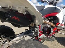 Yamaha YFZ 450R  Exhaust   Monster Pipe  Monsterpipe single exhaust system