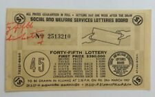 1957 45th Lottery drawn in Kluang