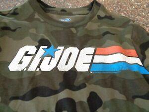 Old Navy G.I. Joe LS Camo T-Shirt Youth Boys Medium (8) NWT