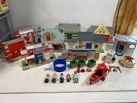 Postman Pat Playset Bundle, Sorting Office, Green grocers, Barn & Garage Job Lot