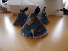 3 Pee Pee Wee conos de parada Tipi bebé ducha regalo