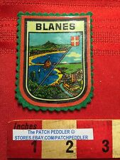 Vtg. Blanes Spaing - Gateway to Costa Brava TOURIST PATCH EMBLEM ESPANA 63KK