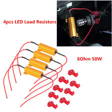 4x LED Load Resistor Turn Signal DRL Fog Light Fix Hyper Flash Canbus Error Free