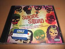 SUICIDE SQUAD single CD of SUCKER FOR PAIN lil wayne imagine dragons wiz khalifa