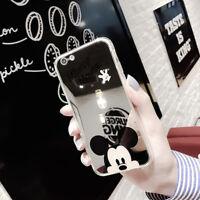 Funda Carcasa TPU Anillo Disney Case Espejo Dibujos animados Suave Caucho Caso
