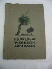 FLOWERS OF WESTERN AUSTRALIA FIRST SERIES BY OGDEN RICHARDSON MURDOCH BOOK