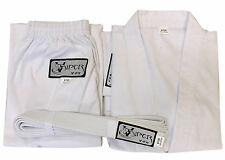 Karate Suit:  Martial Arts Uniform Gi & Free  Belt (4 - 170) Viper