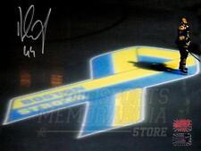 Dennis Seidenberg Boston Bruins Signed Boston Strong Illumination 8x10