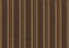 Richloom Fabric   Dark Brown Stripe