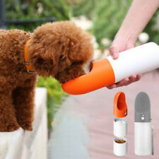 Dog Water Bottle Pet Food Bowl Dispenser Portable Drinking Cup for Travel Hiking