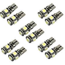 10 x errore Canbus T10 bianco libero 5-SMD 5050 W5W 194 16 LED luminosi