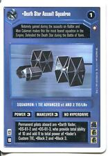 Star Wars CCG First Anthology White Border Preview Card Death Star Assault Sq.