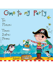 Pirate Theme Party Invitations Boys Birthday Glitter Invites Rachel Ellen