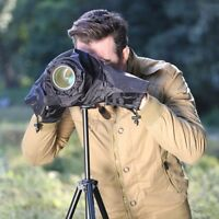 Black Nylon Rain Cover Waterproof Case Photography Accessories For DSLR Camera