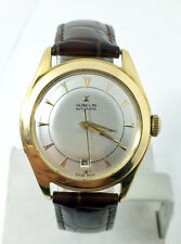 Vintage 18k GUBELIN Automatic Watch 1950s EXLNT SERVICED RARE